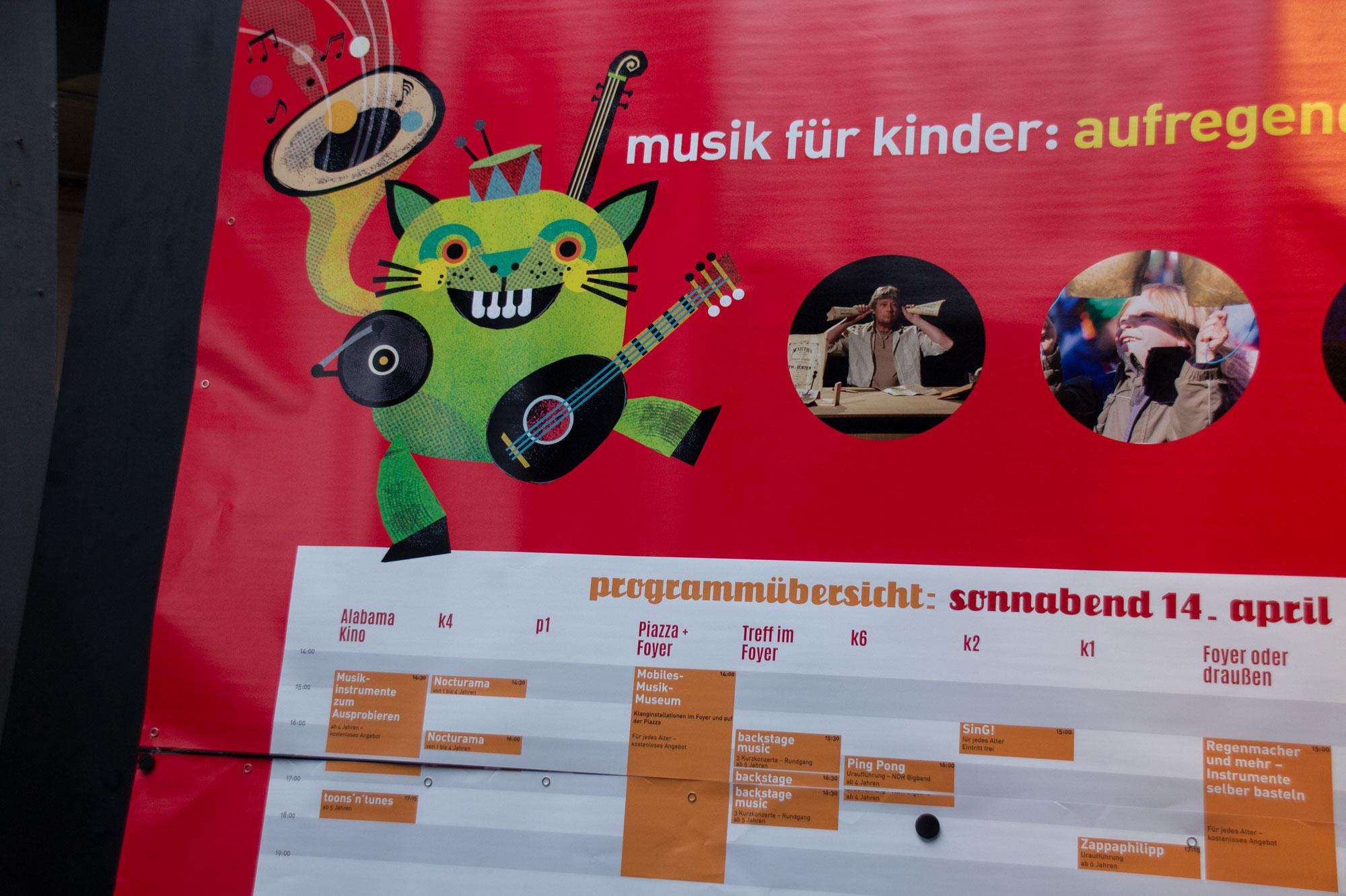 Klangkatze – Characterdesign für KinderKinder e.V