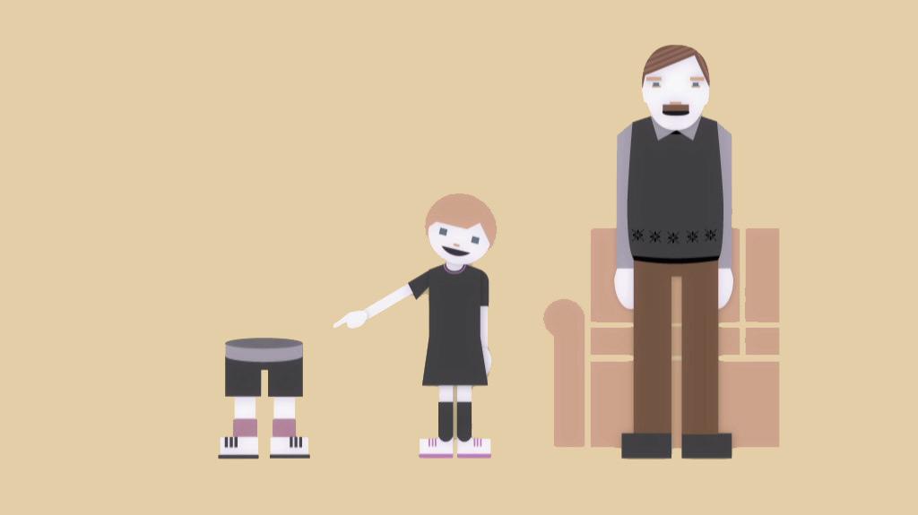 Durchschnittsfamilie - Kinderbetreuung